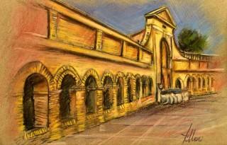 Enrico Felloni_2 - Mostra Artisti per Lanciano - Pastello - cm. 30 x 20