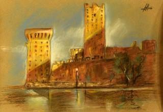 Enrico Felloni_4 - Mostra Artisti per Lanciano - Pastello - cm. 30 x 20