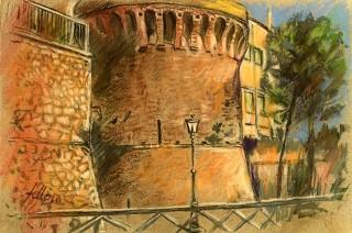 Enrico Felloni_5 - Mostra Artisti per Lanciano - Pastello - cm. 30 x 20