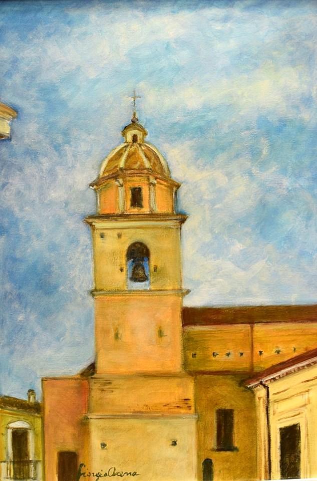 Giorgio Acerra - Mostra Artisti per Lanciano - Olio su tela - cm 35 x 50