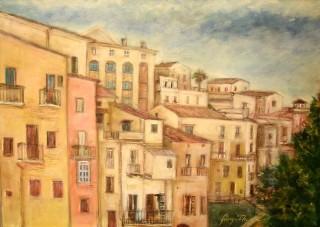 Giorgio Acerra - Mostra Artisti per Lanciano - Olio su tela - cm. 70 x 50