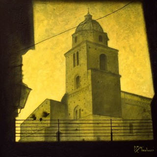 Roberto Micolucci - Mostra Artisti per Lanciano - Acrilico su tela - cm. 50 x 50