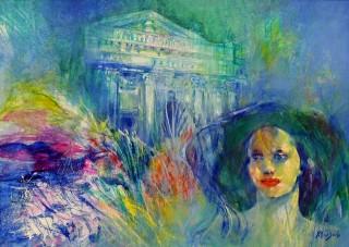 Vittorio Sodo - Mostra Artisti per Lanciano - Se ci fosse il mare - Olio su tela - cm. 70 x 50